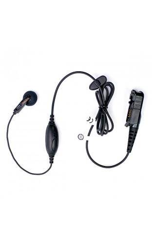 PMLN5733 Наушник Mag One вкладной с микрофоном и кнопкой РТТ на проводе (для DP2000, DP3441)