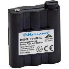 Аккумулятор PB-ALT/G7, 800мА/ч для р/ст ALAN-G7, GXT-400/500