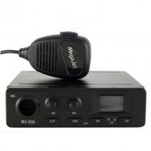 Радиостанция MegaJet MJ-100. AM/FM. 120кан., 7-8W