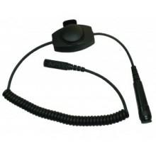 Адаптер FireTalk PTT-8 Black/06PTT8-68; Черная кнопка PTT, IP54. Для р/с MTP850Fug/S/DP3000/DP4000