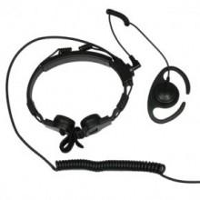 Гарнитура ларингафонная ККМ 06AX070-55 с NEXUS разъёмом и с доп. наушником с разъемом 2.5мм (требуется Адаптер  PTT-8)