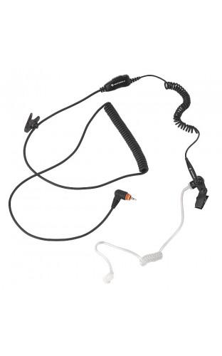 PMLN5957 Гарнитура скрытого ношения с микрофоном и PTT (черная) (для SL4000)