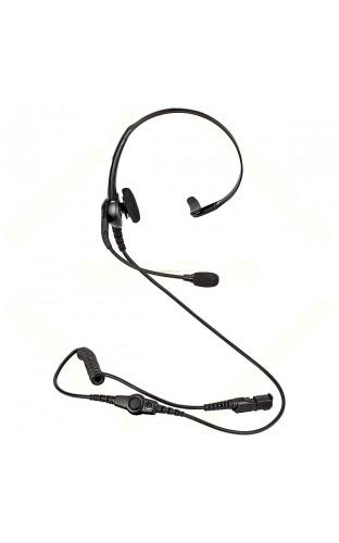 PMLN6635 Гарнитура облегченная с оголовьем и микрофоном на выносной штанге, кнопка PTT на проводе