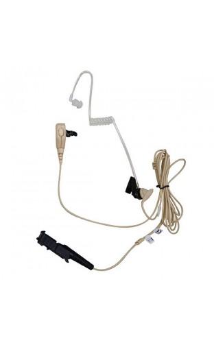 PMLN5726 2-проводная гарнитура скрытого ношения с совмещенными микрофоном и кнопкой РТТ, бежевая